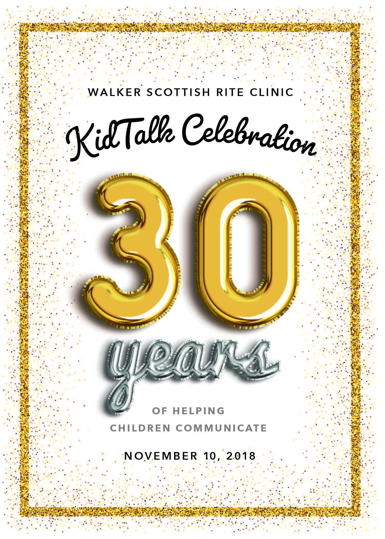KidTalk Celebration - 30 Years