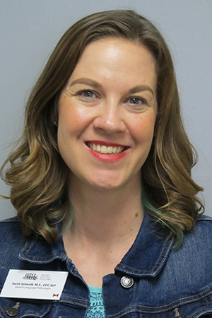 Sarah Schmidt, M.S. CCC-SLP